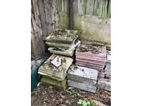 Coping stones and slabs