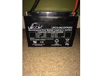 Leoch AGM PowaKaddy Battery - 12V 26AH