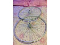 Brand-new bicycle wheels 20/28/700 front /rear