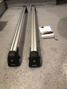 BMW roof rack carrier bars