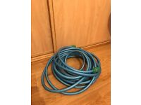Direct water intake hose for caravan.