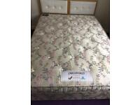 Luxury pocket sprung by double bed £90