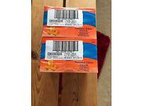 120 Sachets of Orange Fybogel - £10 the lot!
