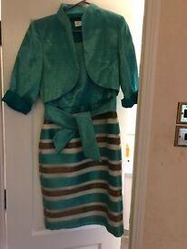 Nati jirmenez wedding dress and jacket size 10
