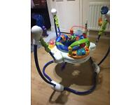 Fisher price ocean jumperoo ( baby jumping)