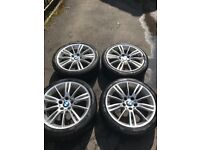 MV3 Alloy wheels with tyres