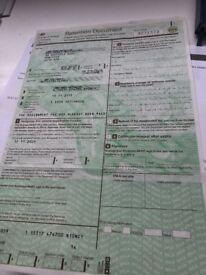 N10NCY Car Registration Number