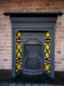 Victorian cast iron fireplace CHEAP DELIVERY UK