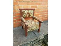 Kids Chair, Ideal for Re-upholstery Project