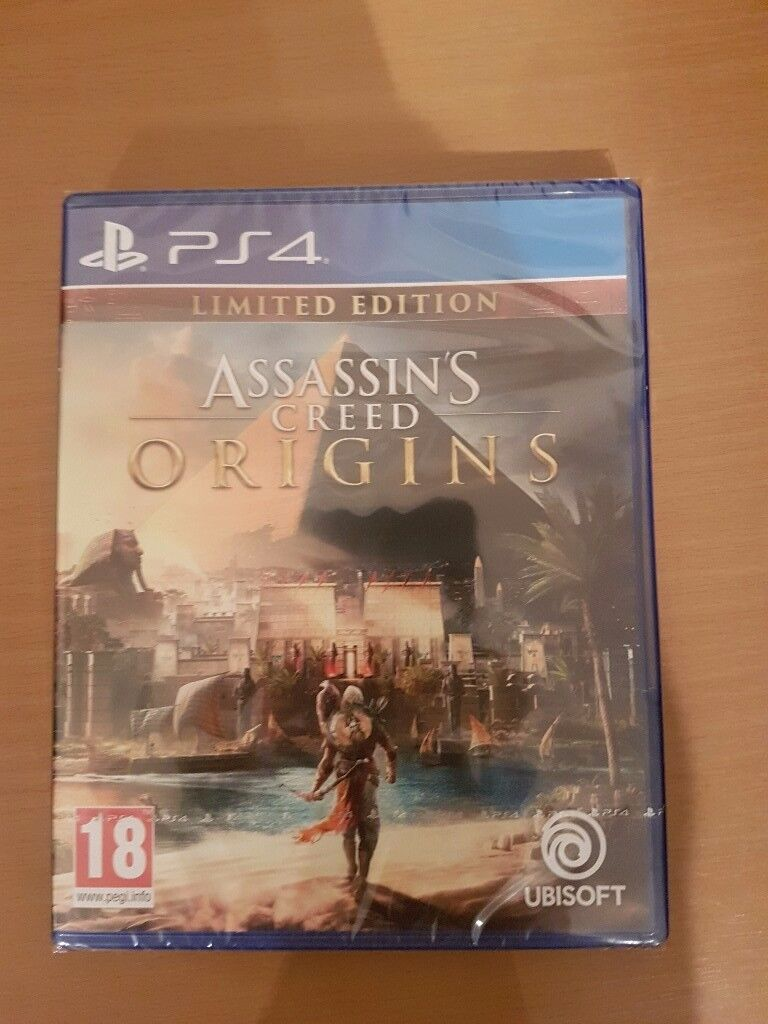 Assassins creed origins limited edition ps4 game