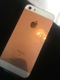 iPhone SE 32gb brand new in box only phone included. Rose gold