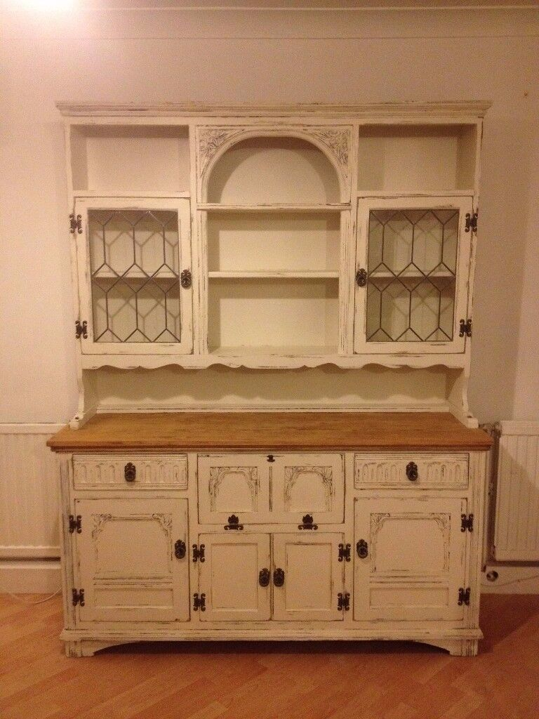 Farmhouse style Shabby Chic Welsh Dresser