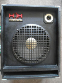2 x HH 100w PA speakers from Strawberry studios