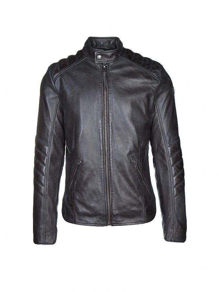 98338209c Black Leather Jacket - Tigha Samson Biker Jacket M | in Taunton, Somerset |  Gumtree