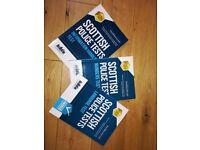 Scottish Police Tests books