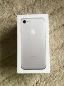 iPhone 7 silver 32gb ee