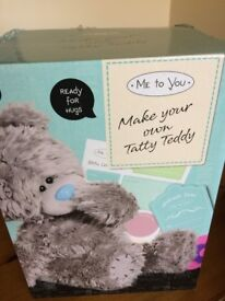 Tatty Teddy - Make your own Teddy Kit - unwanted gift, brand new.