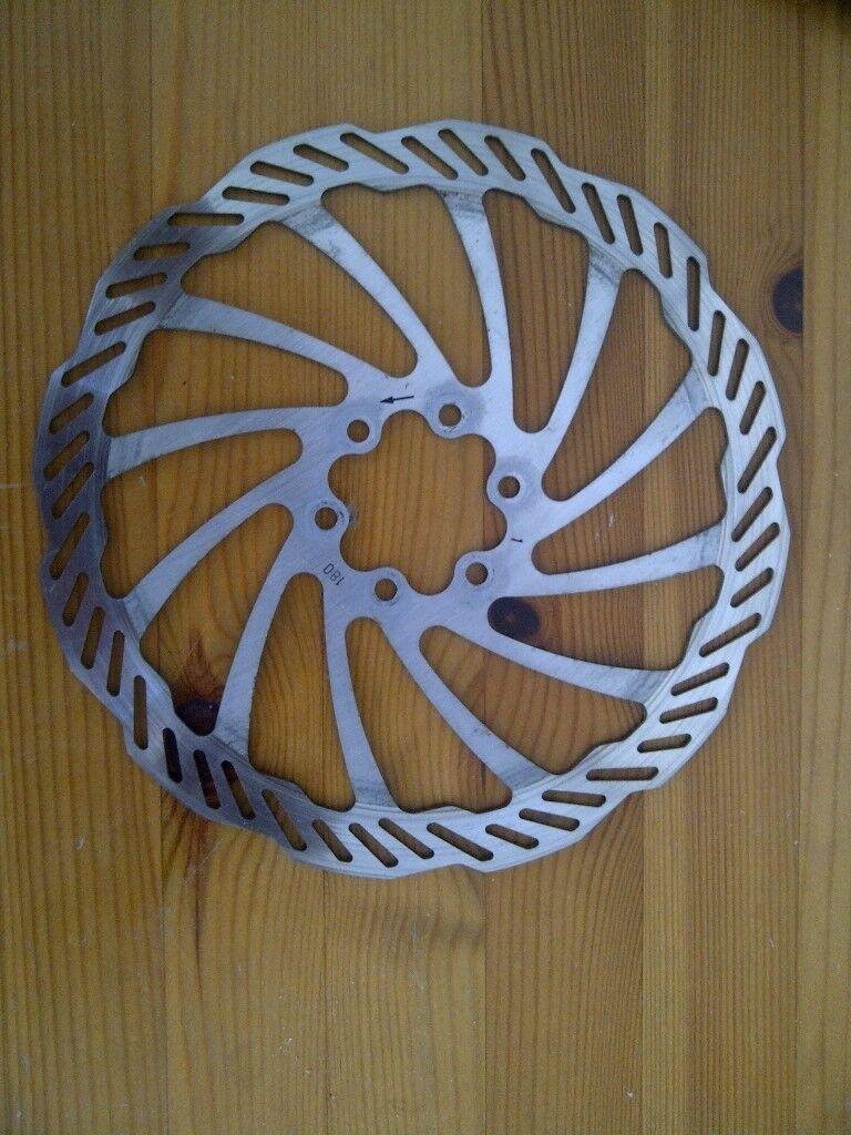 180mm disc brake rotor