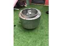 Washing Machine drum garden heater / fire pit
