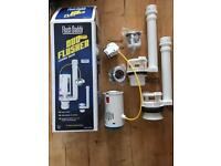 Cistern valve duo flusher for toilet