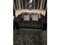 3 piece suite plus footstool (dfs)