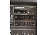 Samson 600W. XM 610 stage power amp