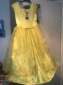 Age 7-8 beauty and the beast belle costume fancy dress