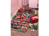 Happy land Village/Christmas/London Bus/Storage Box Bundle