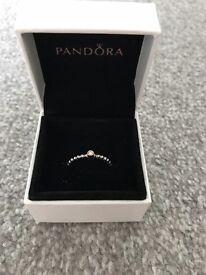 Genuine Pandora Ring. Size 56