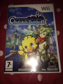 Wii game 'Chocobos Dungeon'