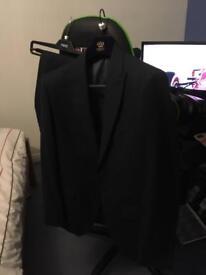 Navy Blue Next Signature Suit (40S jacket, 32 Trousers)
