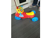 Baby walker and baby ride on toy