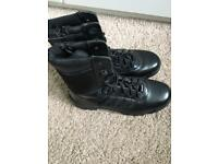 Bates Tactical Black Boots (Size 7) - New and unboxed