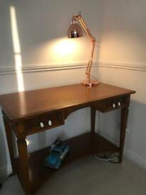 Office writing wood vintage desk