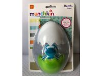 Munchkin Blue/White Hatch Duck Bath Toy NEW