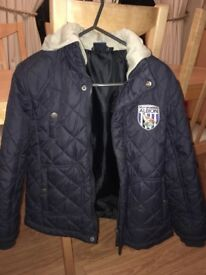 WBA quilted jacket age 9/10