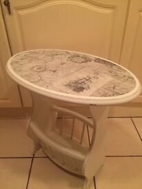 OCCASIONAL TABLE SHABBY CHIC STYLE