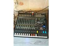 Studiomaster power mixer & flight case