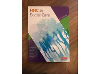 HNC in Social Care (for Scotland) book