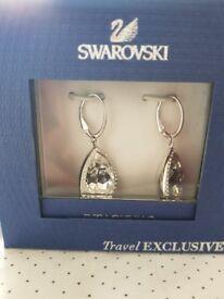 Swarovski earrings - new in box