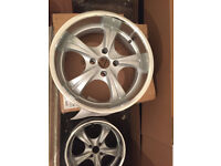 "Deep dish Alloy wheels 17"" inch Peugeot 1007 106 2008 205 206 207 208 3008 306 307 308 alloys wheel"