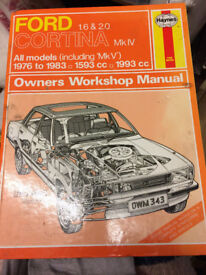 Ford Cortina owner manual
