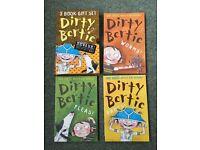 Dirty Bertie box set of books by David Roberts & Alan MacDonald