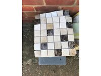 2 boxes of tiles