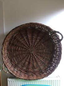 Antique Hungarian Apple Basket
