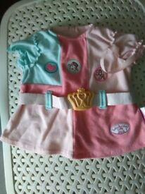 Baby Annabell dress fab