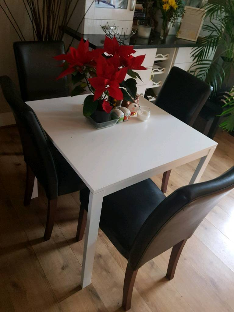 Dining table+4 chairs