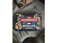 Metallica collectors edition monopoly