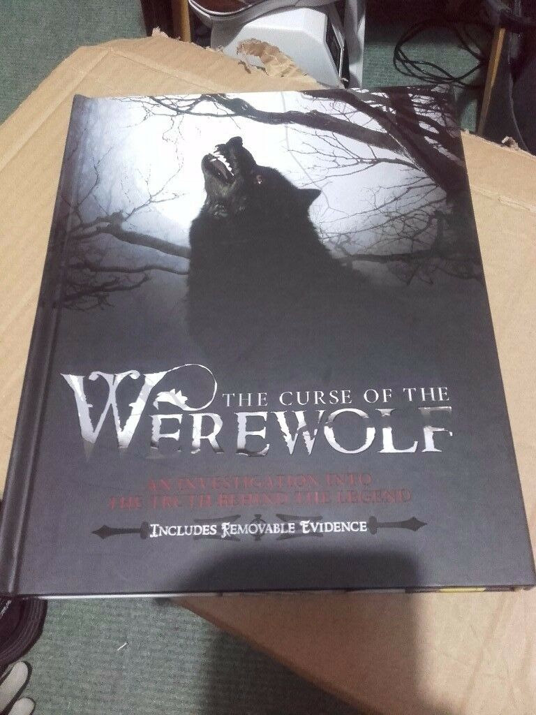 the curse of the werewolf book
