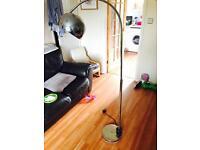 Floor arch lamp